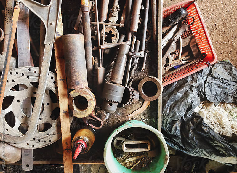 Vintage Toolbox by VISUALSPECTRUM for Stocksy United
