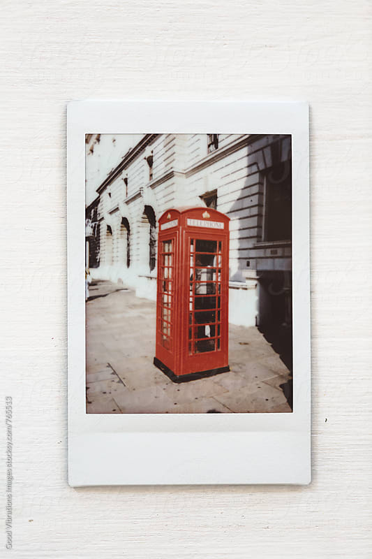 Instant photo from London, UK by Good Vibrations Images for Stocksy United