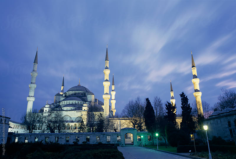 The Blue Mosque. Istanbul.  Turkey. by Hugh Sitton for Stocksy United