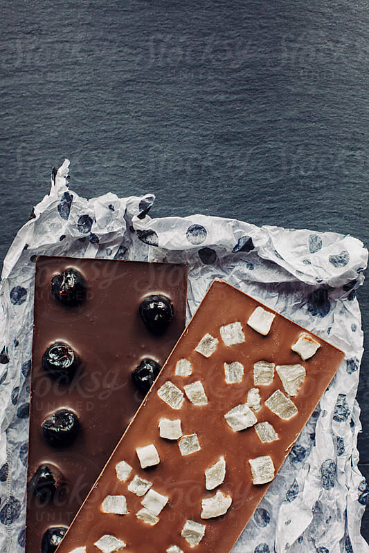 Chocolate With Candied Fruit by Lumina for Stocksy United