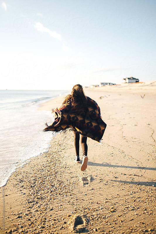 Beach Girl Run by Jake Elko for Stocksy United
