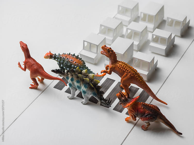 Dinosaur Family by Milles Studio for Stocksy United