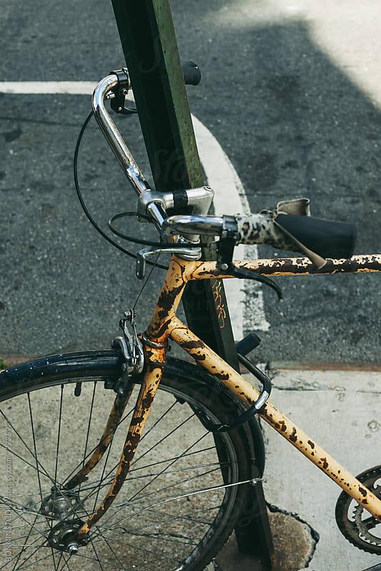 New York bikes. by BONNINSTUDIO for Stocksy United