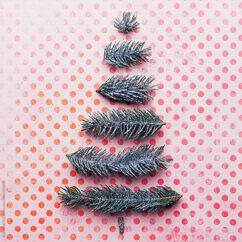 Christmas tree. by BONNINSTUDIO for Stocksy United