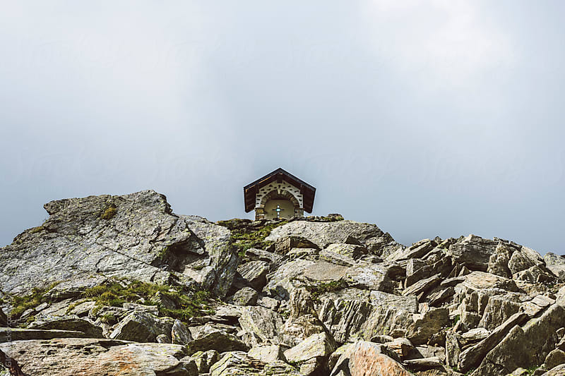 Little chapel in the mountain by GIC for Stocksy United