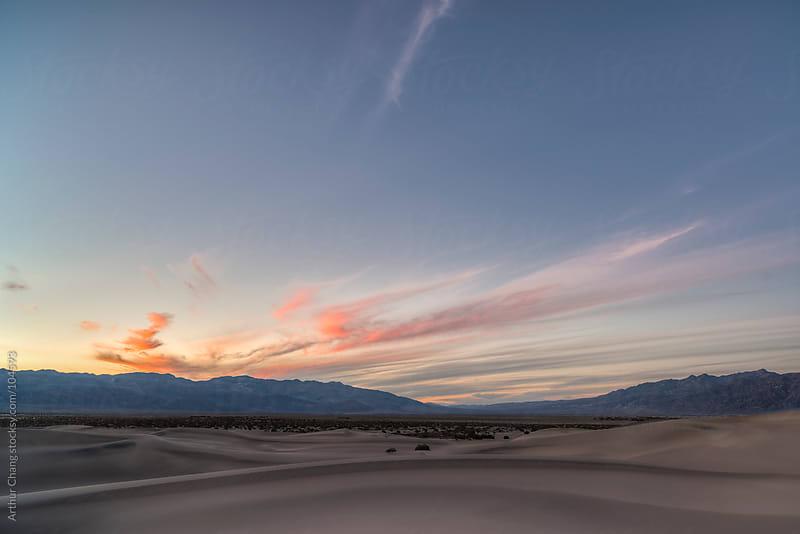 Desert Sunset by Arthur Chang for Stocksy United