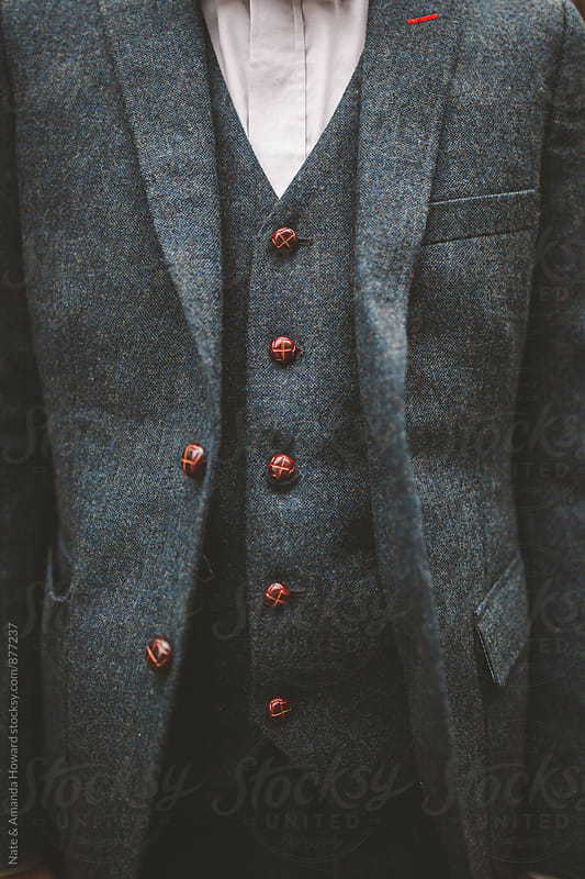 menswear details by Nate & Amanda Howard for Stocksy United