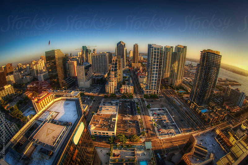 San Diego from above by Neil Kremer for Stocksy United