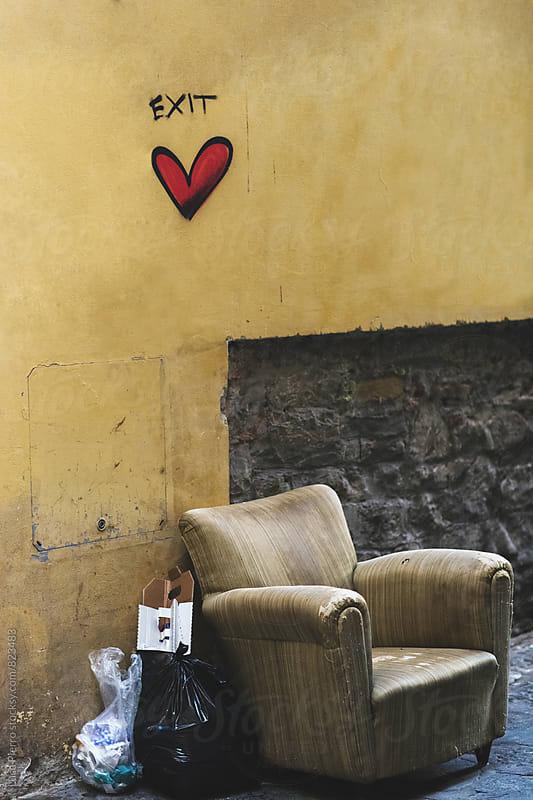 Love in the dump by Luca Pierro for Stocksy United