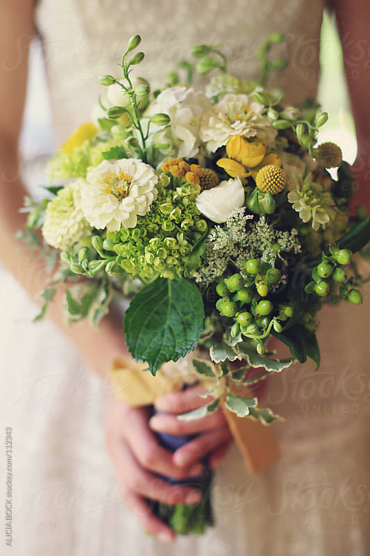 Wedding Bouquet - Vertical by ALICIA BOCK for Stocksy United