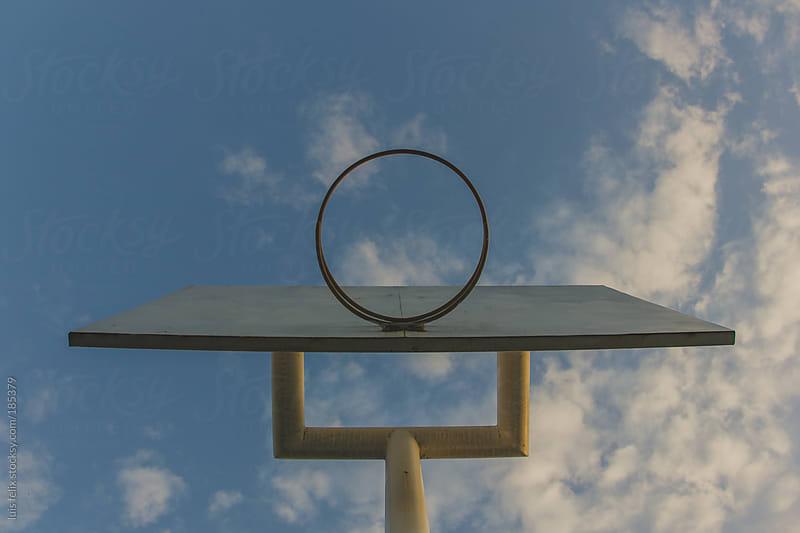 basket ball hoob by luis felix for Stocksy United