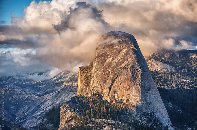 Half Dome, Yosemite by Chris Chabot for Stocksy United