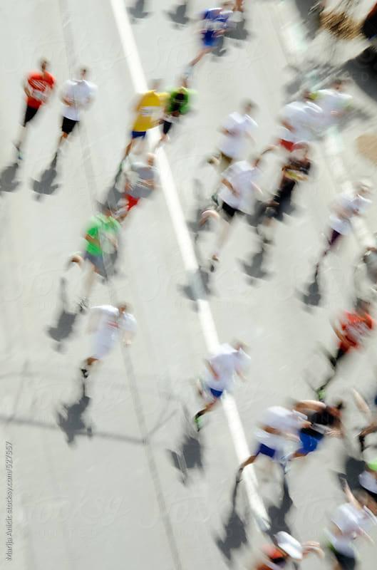 Marathon by Marija Anicic for Stocksy United