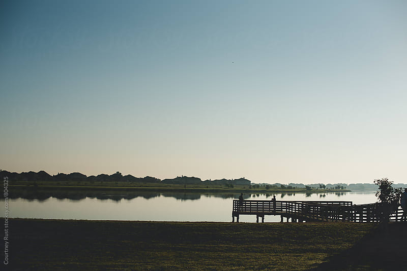 Early morning lake by Courtney Rust for Stocksy United