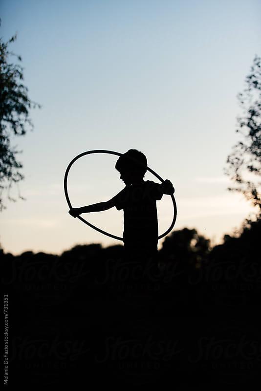 hula hoop by Melanie DeFazio for Stocksy United