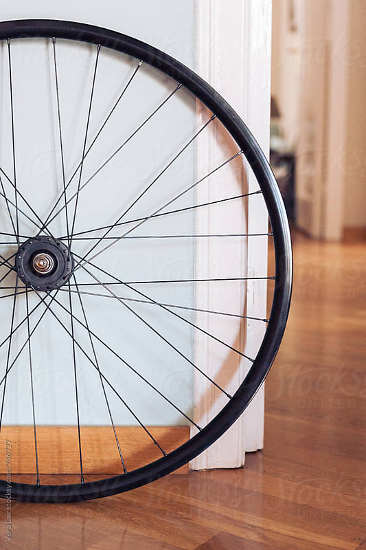 Bicycle wheel by Vera Lair for Stocksy United