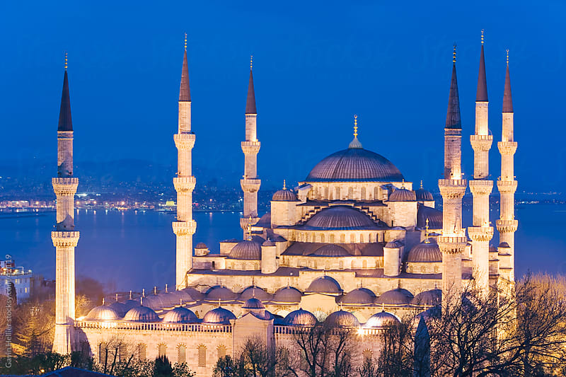 The Blue Mosque (Sultan Ahmet Mosque), Istanbul, Marmara province, Turkey, Europe by Gavin Hellier for Stocksy United