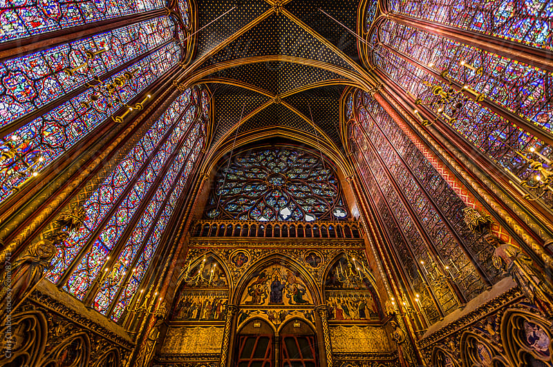 La Sainte-Chapelle by Chris Chabot for Stocksy United