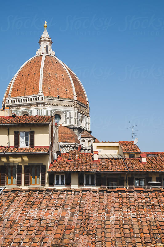Majestic Duomo over the Rooftops of Florence by Giorgio Magini for Stocksy United