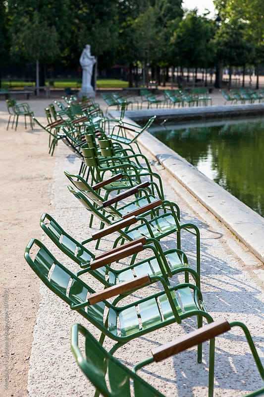 Jardin des Tuileries, Paris, France by Mental Art + Design for Stocksy United