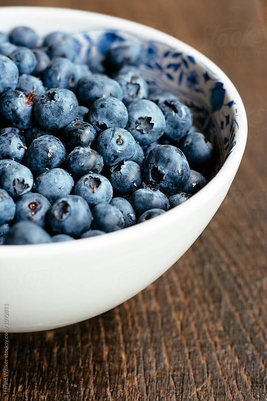 Fresh blueberries by Harald Walker for Stocksy United
