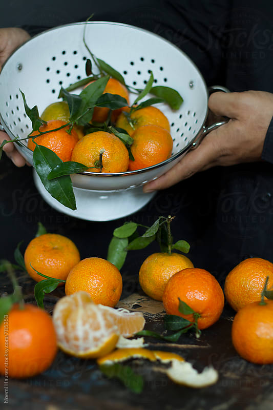 Mandarin orange by Noemi Hauser for Stocksy United