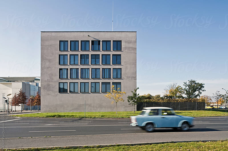 Classic car in Berlin by Koen Van Damme for Stocksy United