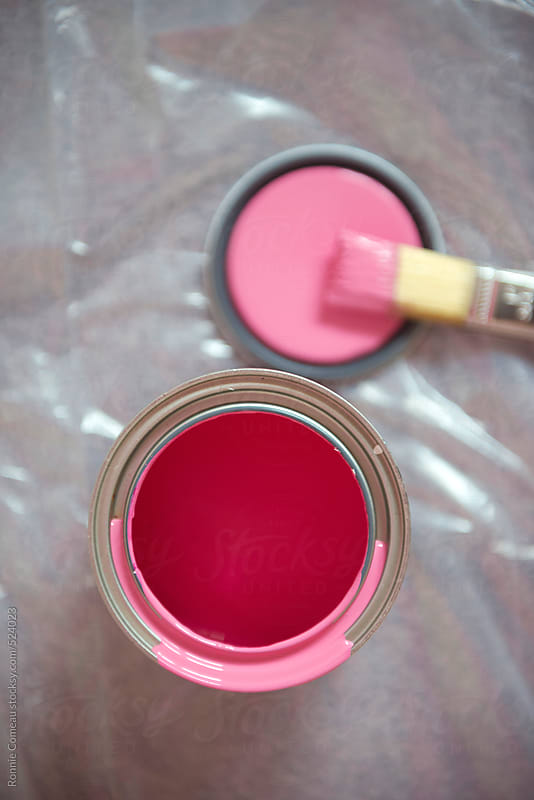 Pink Paint by Ronnie Comeau for Stocksy United