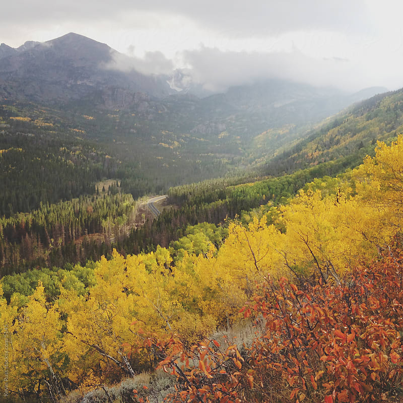 Fall Color in the Rocky Mountains by Kevin Russ for Stocksy United