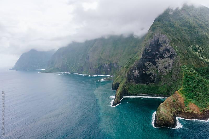 Fog over Molokai by Jen Grantham for Stocksy United