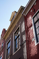 Old Dutch Houses In B Amp W Stocksy United
