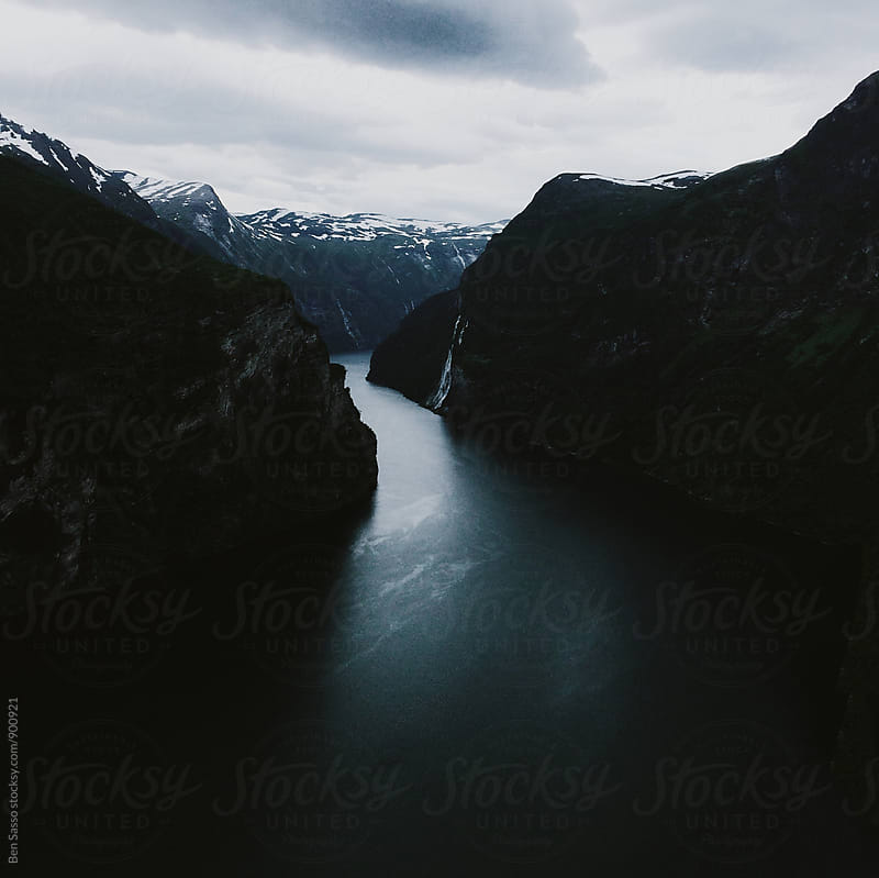 Fjord in Norway by Ben Sasso for Stocksy United