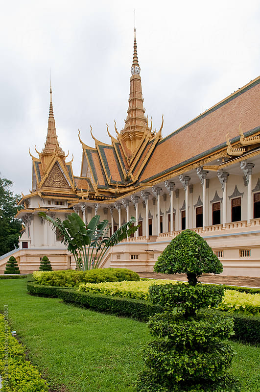 Views of the Royal Palace in Phnom Phen by Bisual Studio for Stocksy United