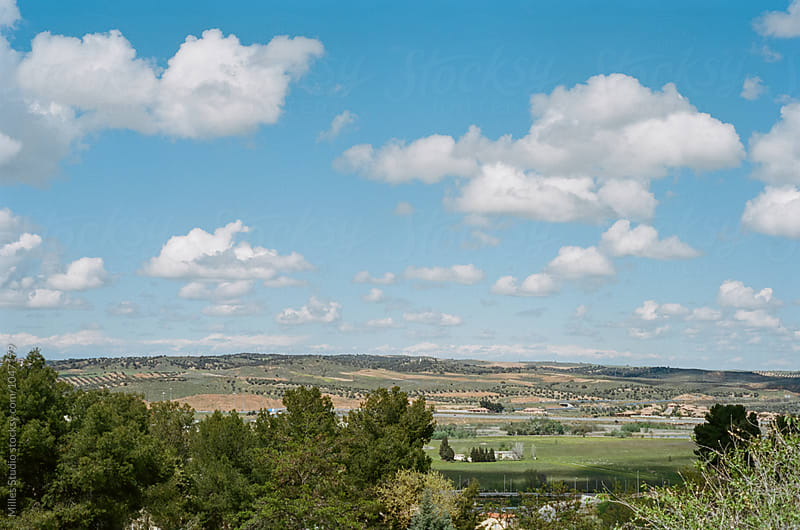 View of Toledo surroundings by Milles Studio for Stocksy United