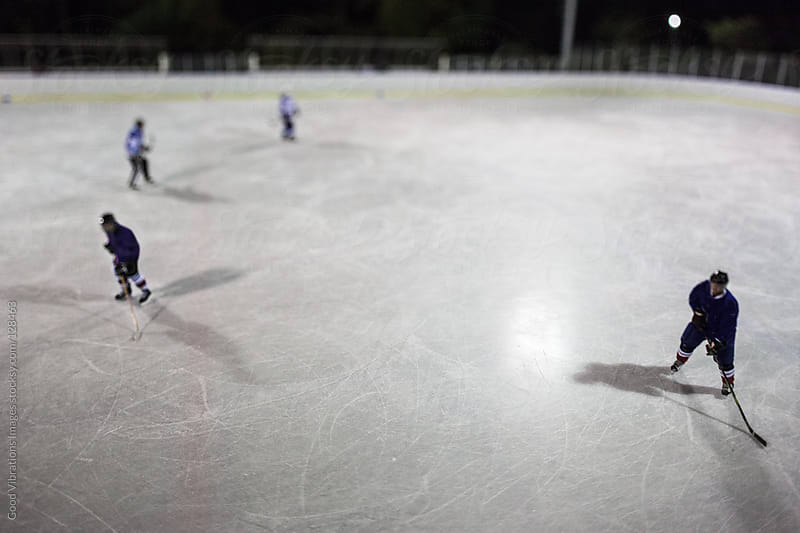 Ice Hockey Team by Good Vibrations Images for Stocksy United