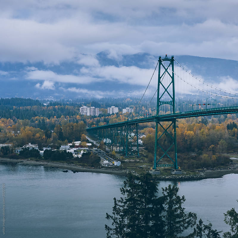 lion gate bridge by unite images for Stocksy United