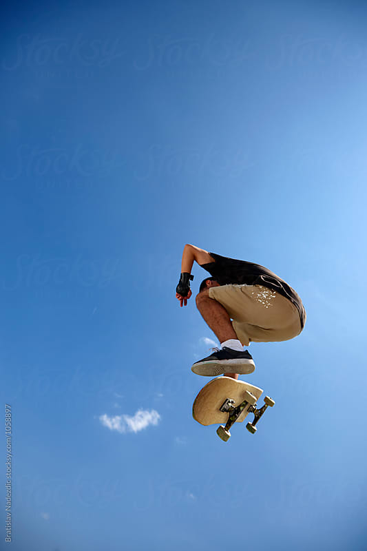 Skate boarder by Bratislav Nadezdic for Stocksy United