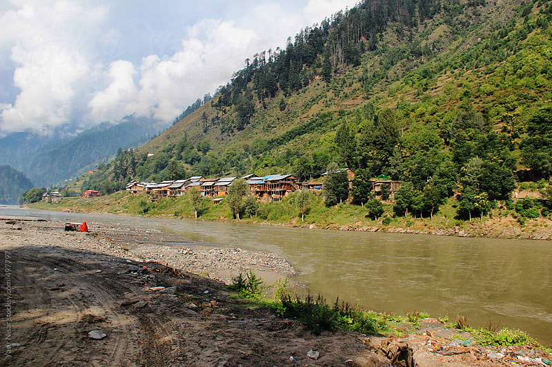 Neelum river  by Yasir Nisar for Stocksy United