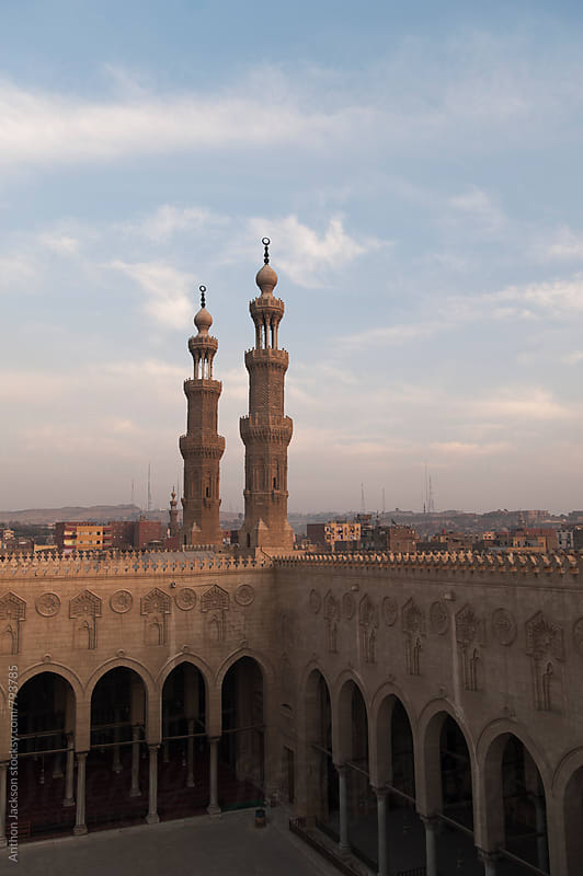 Mosque of Sultan al-Mu'ayyad by Anthon Jackson for Stocksy United