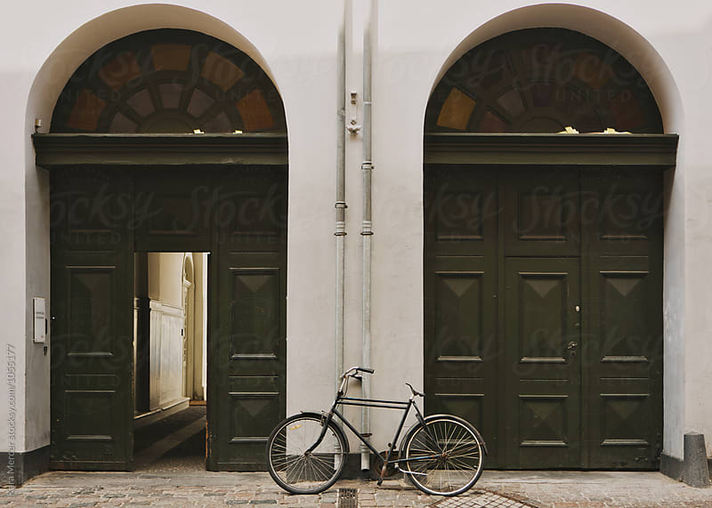 Biking in Copenhagen by Kara Mercer for Stocksy United