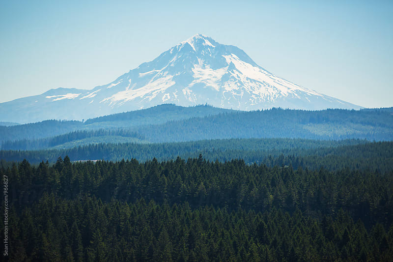 Mt Hood by Sean Horton for Stocksy United