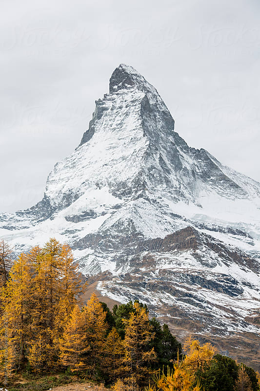 Matterhorn by Peter Wey for Stocksy United
