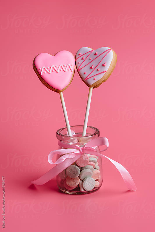 Heart shape cookies by Maa Hoo for Stocksy United