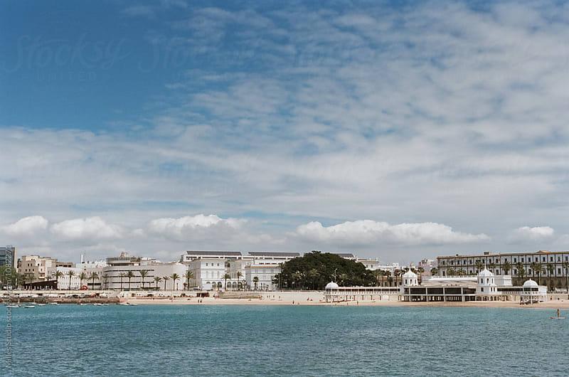 Beach of Cadiz by Milles Studio for Stocksy United