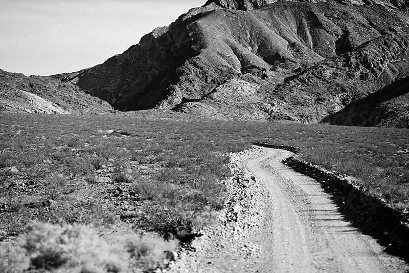 Dirt Road, Death Valley, CA by Thomas Hawk for Stocksy United
