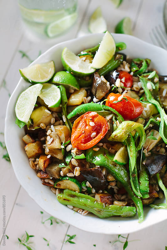 Fresh Orzo Salad by Davide Illini for Stocksy United
