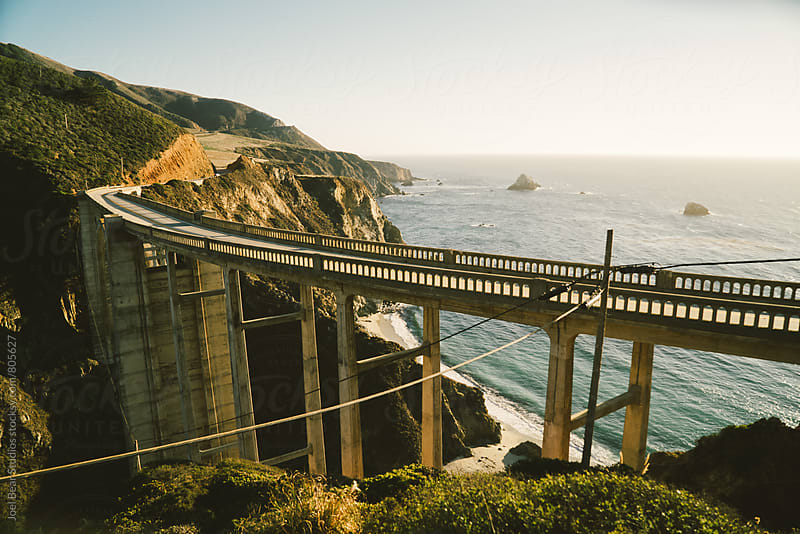 Bixby Bridge by Joel Bear Studios for Stocksy United