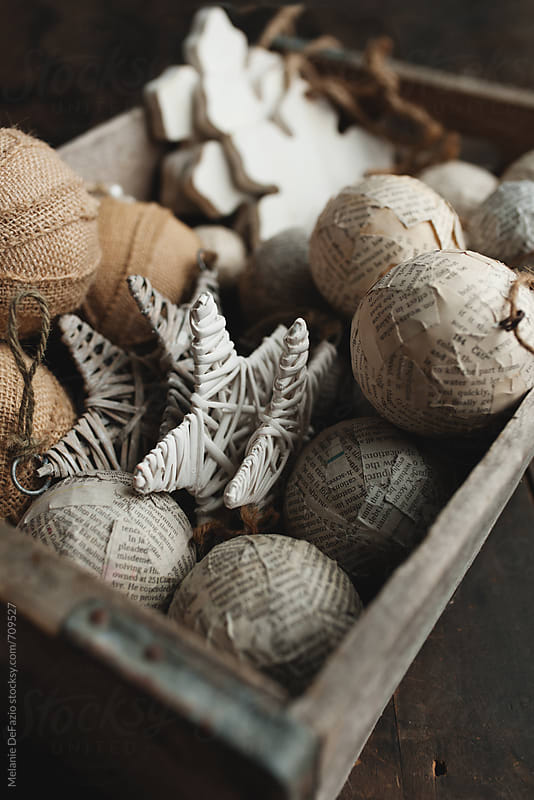 Christmas Ornaments by Melanie DeFazio for Stocksy United