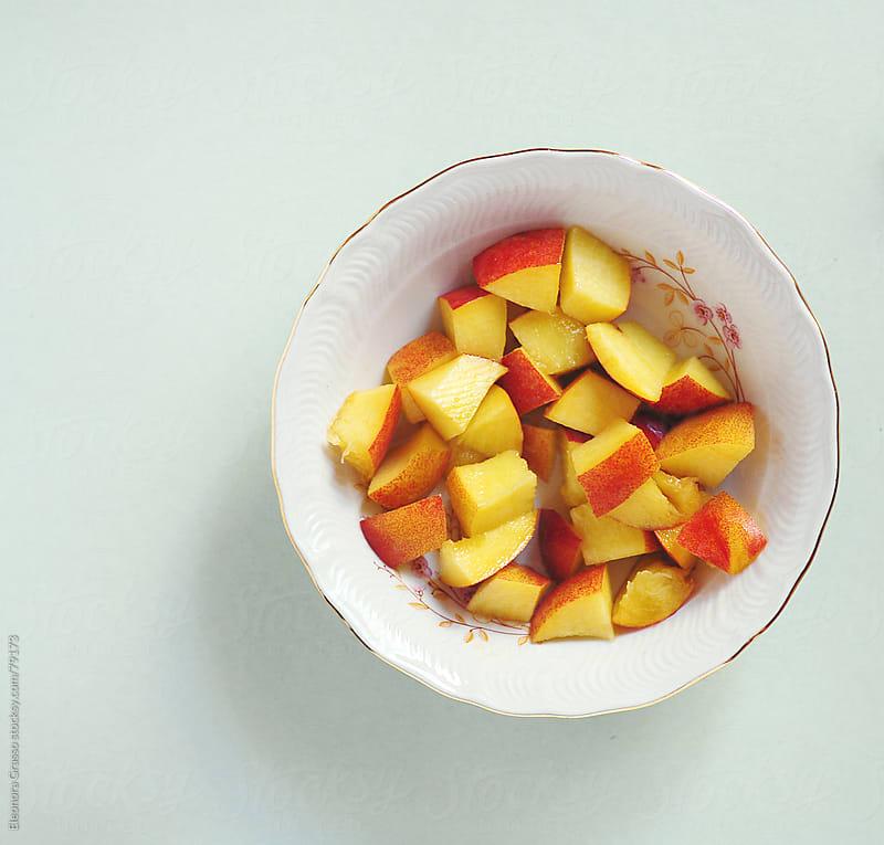 Fresh peach  by Eleonora Grasso for Stocksy United