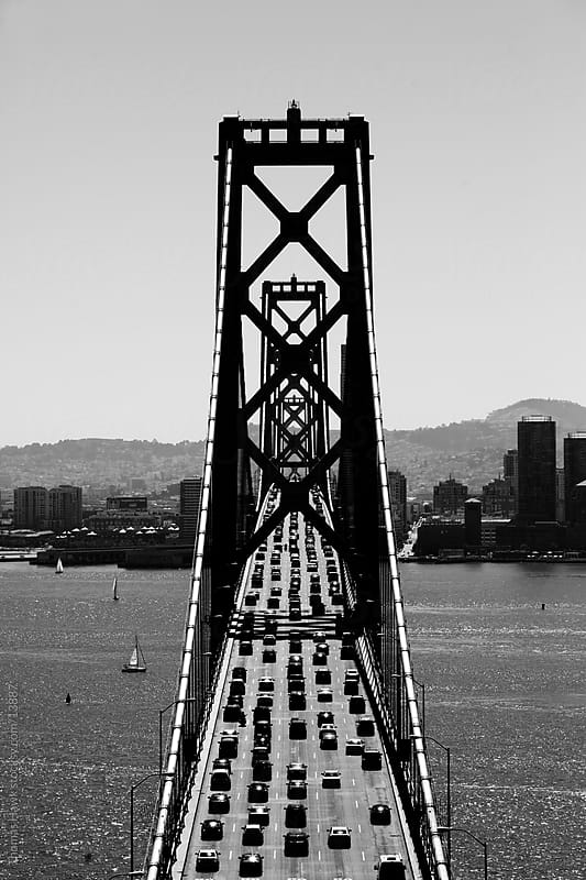 Overhead Bay Bridge by Thomas Hawk for Stocksy United